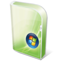 128x128px size png icon of Vista home basic Box