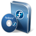 128x128px size png icon of Fedora disc