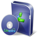 128x128px size png icon of Linspire disc