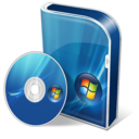 128x128px size png icon of Vista Business disc