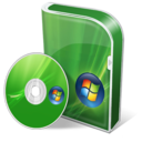 Vista home premium disc Icon