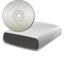 128x128px size png icon of CD Drive