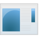 128x128px size png icon of EXE file