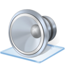 128x128px size png icon of Windows 7 audio