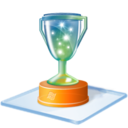 128x128px size png icon of Windows 7 award
