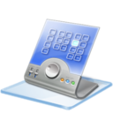 128x128px size png icon of Windows 7 calendar