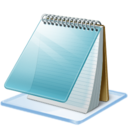 128x128px size png icon of Windows 7 editor