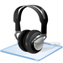 128x128px size png icon of Windows 7 headphone