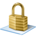 128x128px size png icon of Windows 7 security