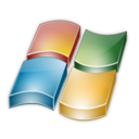 128x128px size png icon of Vista flag