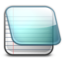 128x128px size png icon of notepad