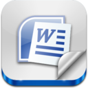 128x128px size png icon of Doc File