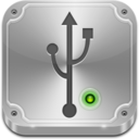 128x128px size png icon of Flash Drive