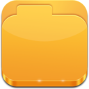 128x128px size png icon of Folder Closed