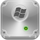 128x128px size png icon of Hard Drive Vista