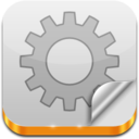 128x128px size png icon of INI File