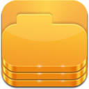 128x128px size png icon of Libraries