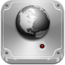 128x128px size png icon of Network Drive Offline