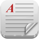 128x128px size png icon of Text File