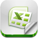 128x128px size png icon of XLS File