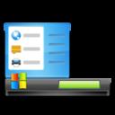 128x128px size png icon of Start Menu