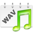 128x128px size png icon of WAV