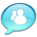 128x128px size png icon of Windows Live Messenger