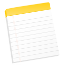 128x128px size png icon of Notes