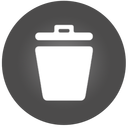 128x128px size png icon of Trash 2