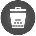 128x128px size png icon of Trash