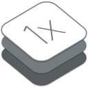128x128px size png icon of 1X