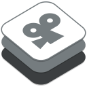 128x128px size png icon of Viddlr