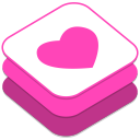 128x128px size png icon of Weheartit
