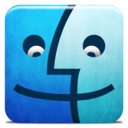 128x128px size png icon of Dock Finder Alt