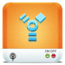 128x128px size png icon of Drives Firewire