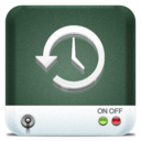 128x128px size png icon of Drives Time Machine HD