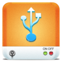 128x128px size png icon of Drives USB HD