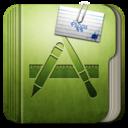 128x128px size png icon of Folder Aplication Folder