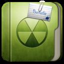 128x128px size png icon of Folder Burnable Folder