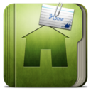 128x128px size png icon of Folder Home Folder