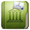 128x128px size png icon of Folder Libary Folder