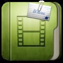 128x128px size png icon of Folder Movie Folder