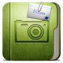128x128px size png icon of Folder Pictures Folder