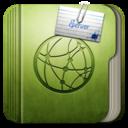 128x128px size png icon of Folder Server Folder