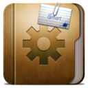 128x128px size png icon of Folder Smart Folder