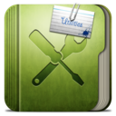 128x128px size png icon of Folder Utilities Folder