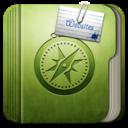 128x128px size png icon of Folder websites Folder