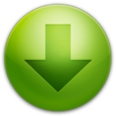 128x128px size png icon of Arrow Down