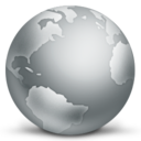 128x128px size png icon of Globe Disconnected