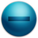 128x128px size png icon of Minus
